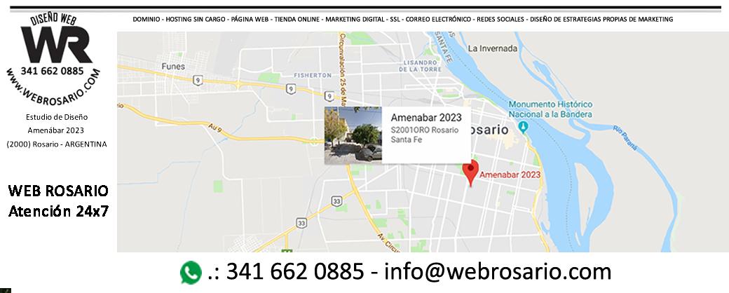 ZONA OESTE - WEB ROSARIO - diseño de paginas web en ROSARIO - SANTA FE -paginas web en ROSARIO -