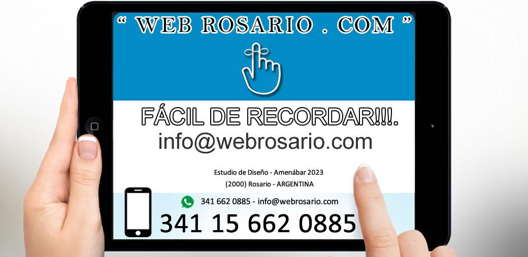 bien facil de recordar - diseño web rosario - paginas web rosario