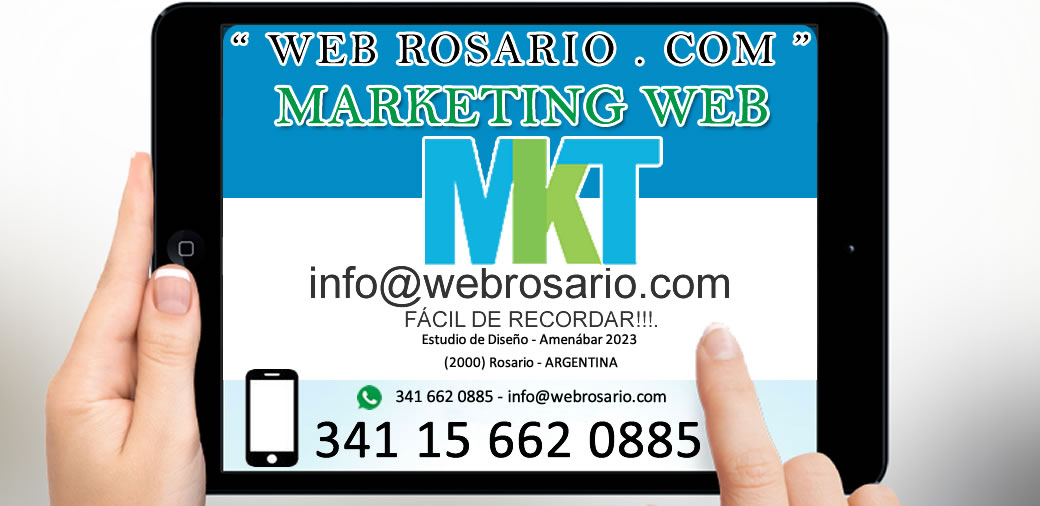 marketing web rosario para pymes y empresas
